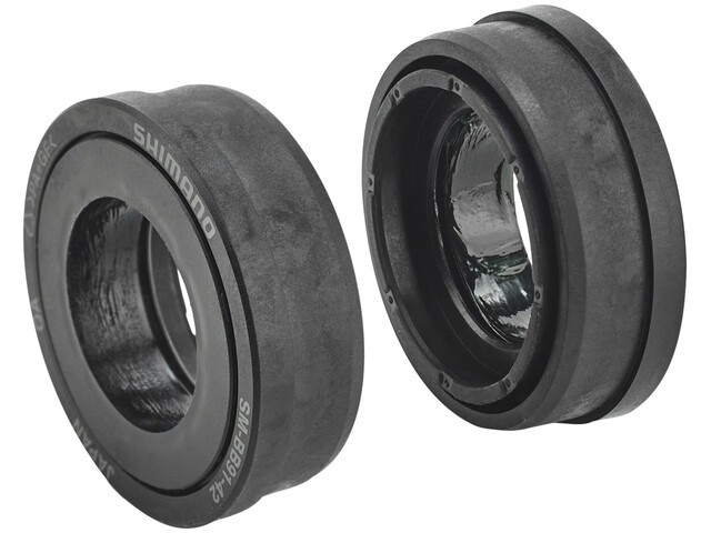Shimano SM-BB91-42A Press-Fit Lagerschalen schwarz